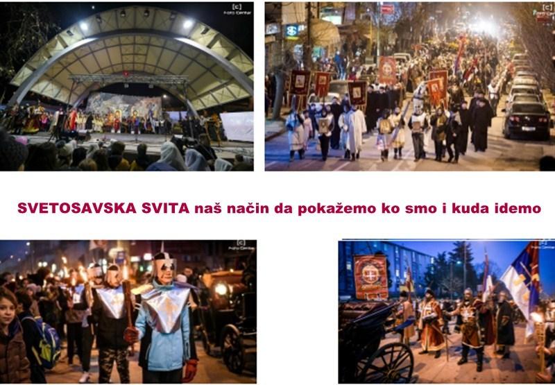 """Jedinstven način proslave Savindana u Srbiji u arandjelovačkoj OŠ """"Sveti Sava""""-Svetosavska svita!!!"""
