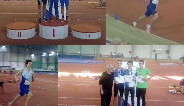 Na prvenstvu Srbije u dvorani atletičari OAK Morava ostvarili su sjajne rezultate!!!