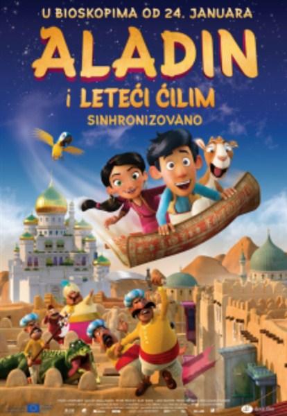 Animirani film ALADIN I LETEĆI ĆILIM u Svilajncu !!!