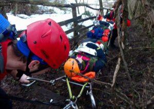 Hrabri spasioci Gorske službe uspešno evakuisali povređenu planinarku J.N. (35) na planini Rudnik !!!