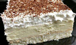 RECEPT DANA-Penušavi kolač sa puno šlaga-SEVEN HEVEN!!!