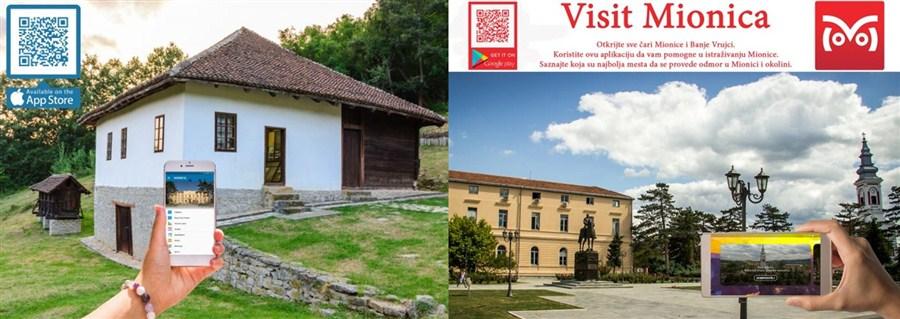 """Promocija turizma se danas ne može zamisliti bez interneta-Aplikacija """"Visit Mionica"""" !!!"""