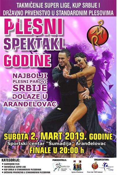 Održava se takmičenje u plesu u sportskom centru Šumadija u Arandjelovcu !!!