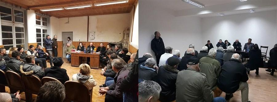 Predsednik opštine Trstenik Aleksandar Ćirić natavio sa svojim saradnicima da obilazi mesne zajednice !!!