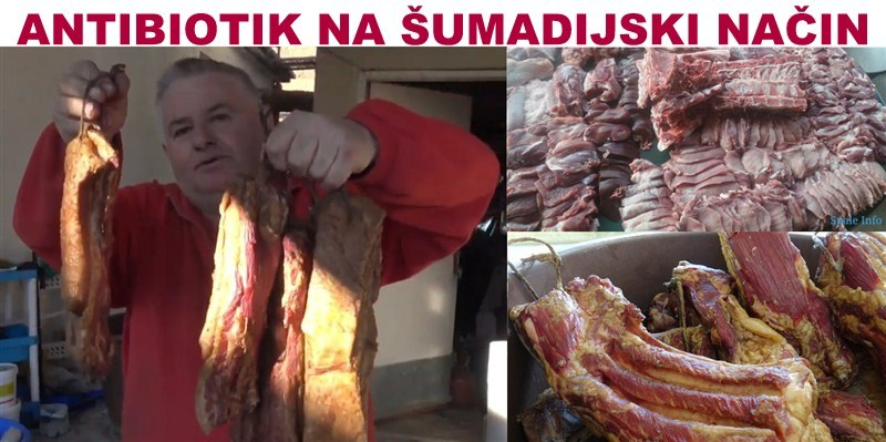 ANTIBIOTIK NA ŠUMADIJSKI NAČIN !!!