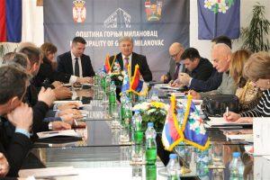 Održana treća redovna sednica Saveta Moravičkog upravnog okruga u 2019. godini !!!