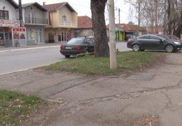 Počinju radovi na rekonstrukciji trotoara u ulici Kneza Miloša u Ćupriji !!!