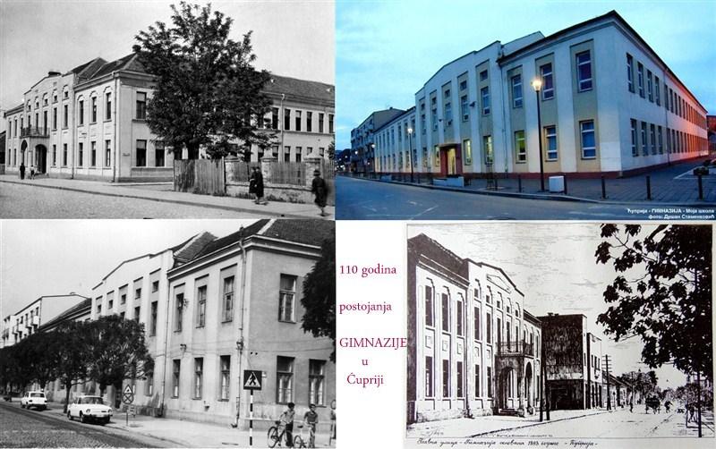 GIMNAZIJA u Ćupriji proslavlja 110 godina postojanja!!!