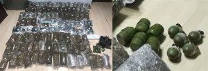 Uhapšeni Arandjelovčani zbog šverca 102 kg marihuane i 10 bombi !!!