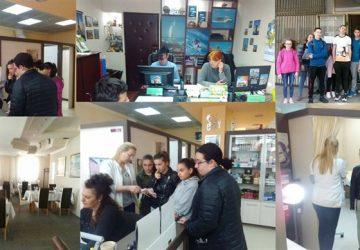 """Osmaci iz OŠ """"Vuk Karadžić"""" počeli uz pomoć Tima za profesionalnu orijentaciju da vrše pripreme za upis u srednje škole!!!"""