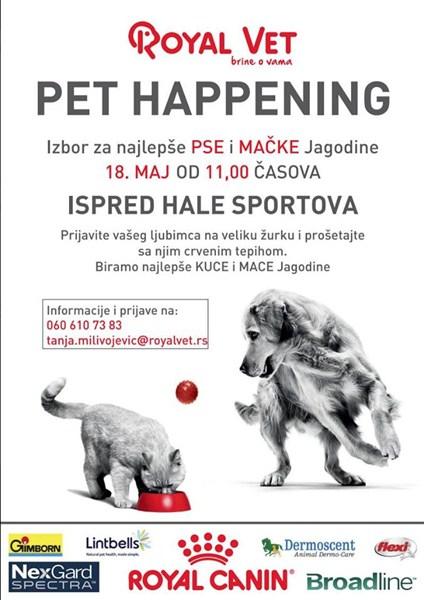 U Jagodini revijalna izložba pasa i mačaka-Royal Vet Pet Happening !!!