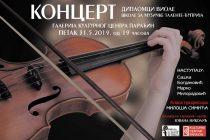 U Paraćinu koncert diplomaca viole Škole za muzičke talente iz Ćuprije!!!