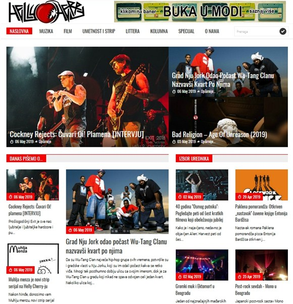 "Regionalni web magazin ""Helly Cherry"" obeležio 16 godina rada !!!"