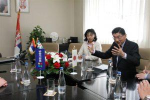 Ambasador Japana nakon posete Zvezdi-Heliosu posetio opštinu Gornji Milanovac !!!