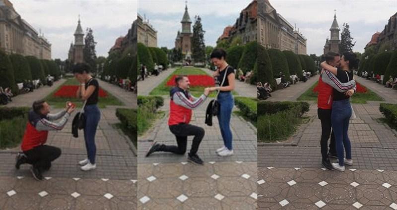 Stefan i Milena-Romantična veridba u dalekom Temišvaru!!!