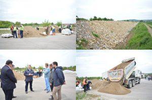 U Opštini Svilajnac sistem za odbranu grada od poplava u velikoj meri završen !!!