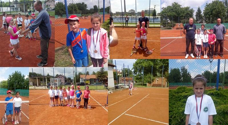 """Na teniskim terenima """"TK Slavija"""" u Ćupriji održan je teniski turnir na crvenom nivou !!!"""