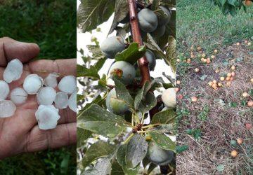 Sta se dešava sa klimom u opštini Topola-za pet dana tri puta obilne kiše sa gradom!!!