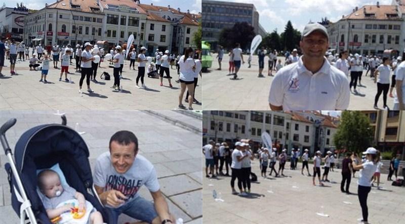 """U Čačku javni trening u okviru projekta ,,Aktivnija Srbija"""" !!!"""