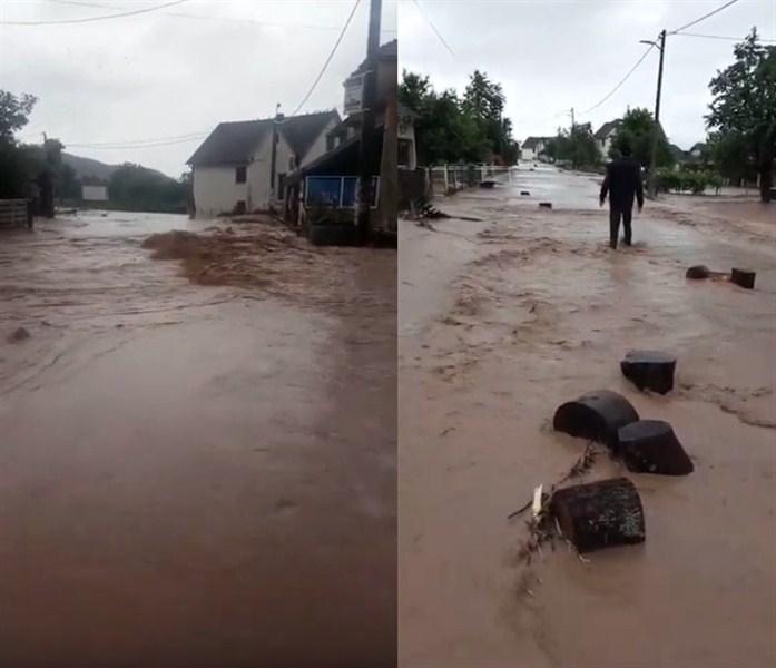 Neprekidne i obilne padavine izazivaju poplave u zapadnoj i centralnoj Srbiji !!!