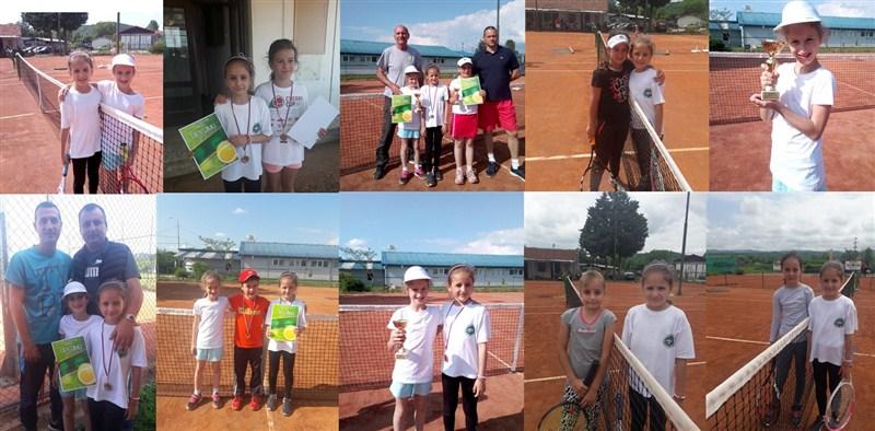 U Knjaževcu održan teniski turnir narandžastog nivoa !!!