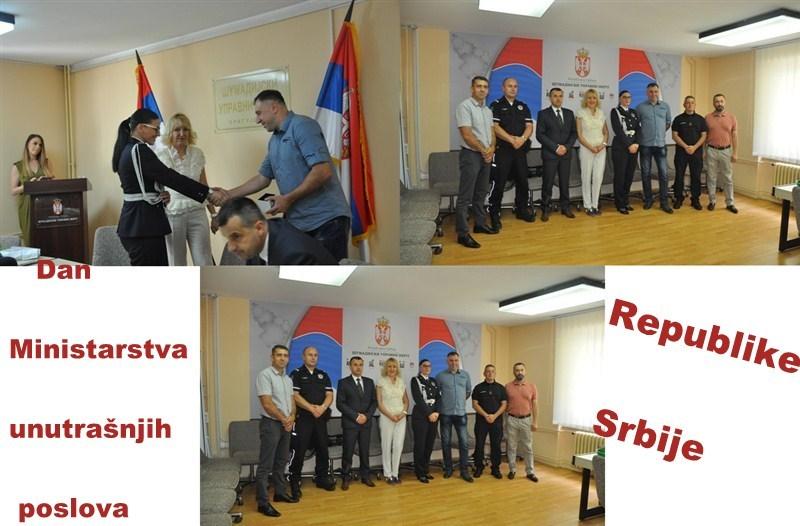 Povodom Dana MUP-a Republike Srbije u Kragujevcu je uprilicen prijem za pripadnike Policijske uprave i Uprave za vanredne situacije u Kragujevcu !!!