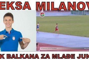 ZLATNI ALEKSA na Prvenstvu Balkana za mlađe juniore u Turskoj!!!