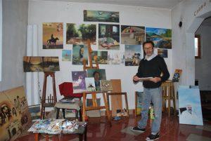 """Sledeće nedelje izložba slika Radeta Useinovića - Kalee u galeriji Ustanove kulture """"Sinđelić"""" u Ćupriji !!!"""