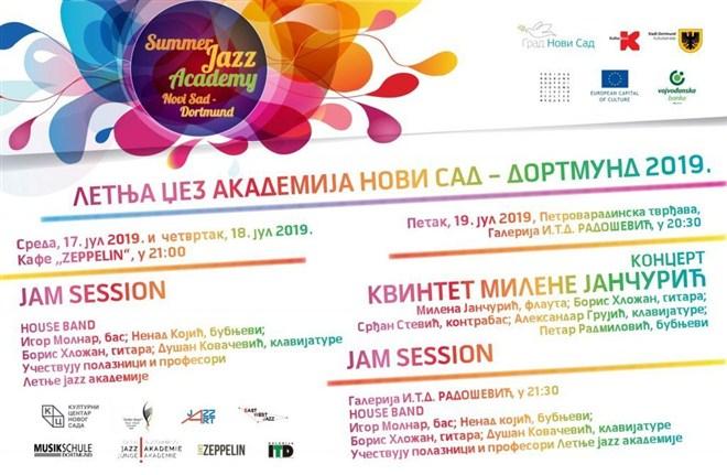 Počela 9. Letnja džez akademija Novi Sad – Dortmund!!!