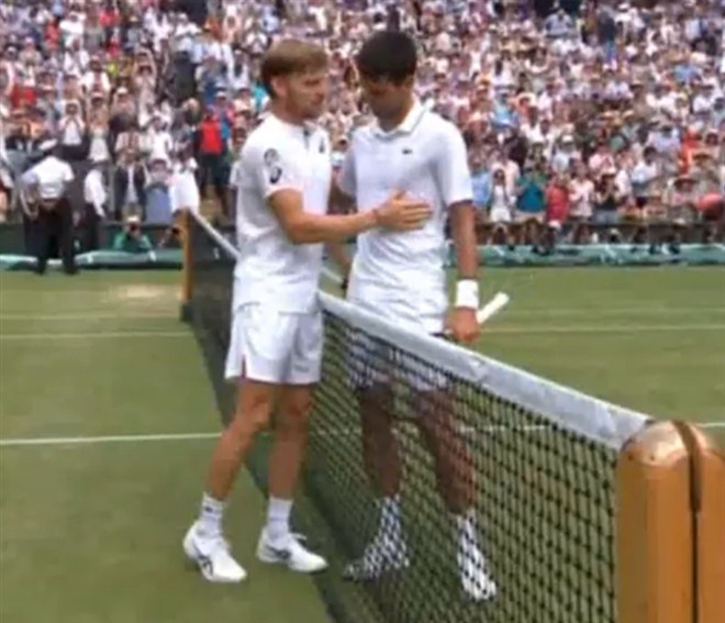 David nije mogao protiv Novaka !!!