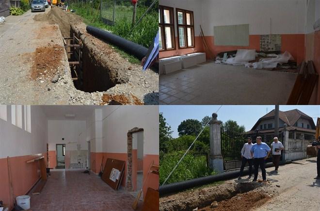 Novac za rekonstrukciju škola u Grabovcu, Gložanu, Dubnici i Bobovu obezbedjen iz opštinskog budžeta !!!