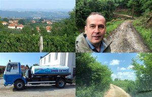 U Topoli se nastavljaju radovi na sredjivanju gradske i seoskih infrastruktura !!!