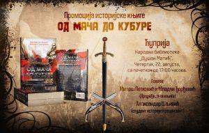 """Promocija knjige """"OD MAČA DO KUBURE"""" u Narodnoj biblioteci """"Dušan Matić"""" u Ćupriji !!!"""