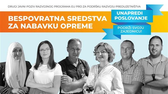 Drugi javni poziv za dodelu bespovratnih sredstava preduzetnicima, mikro i malim preduzećim u opštini Ćuprija!!!