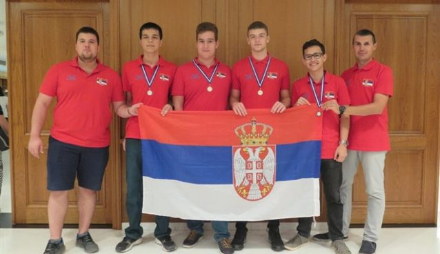 Na 27. Balkanskoj informatičkoj olimpijadi u Atini četvoročlana informatička ekipa Srbije ostvarila zbirno najbolji rezultat !!!