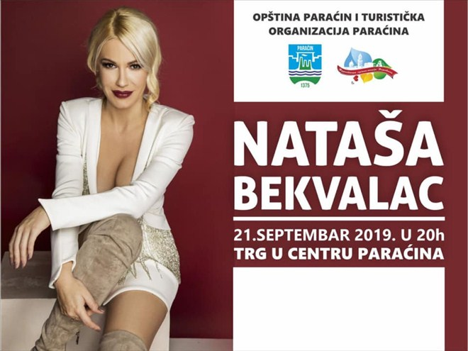 Koncert Nataše Bekvalac na trgu u Paraćinu !!!