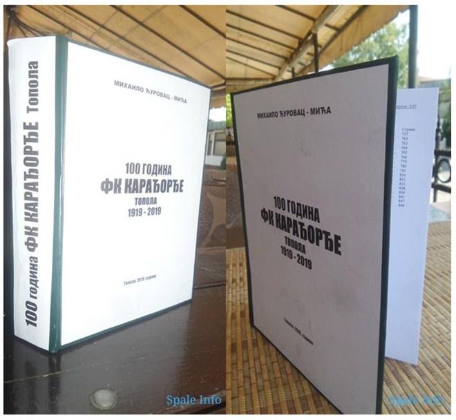 """Knjiga """"100 godina FK KARADJORDJE (1919-2019)"""" u prodaji !!!"""