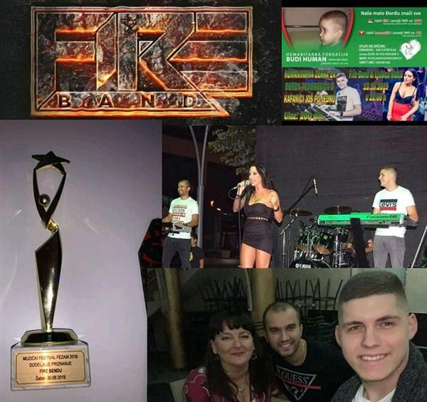 Mladi loznički bend Fire band učestvuje na HUMANITARNOM KONCERTU za pomoć Djordju Popoviću !!!