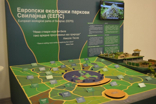 Svilajncu predstavljen nov projekat o izgradnji Evropskih ekoloških parkova !!!