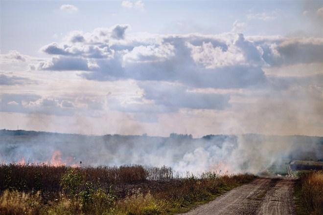 Zabrana spaljivanja biljnih ostataka na otvorenom prostoru na teritoriji opštine Ćuprija!!!