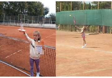 IVA KOLEV, mlada teniserka iz Ćuprije, osvaja turnire širom Srbije !!!