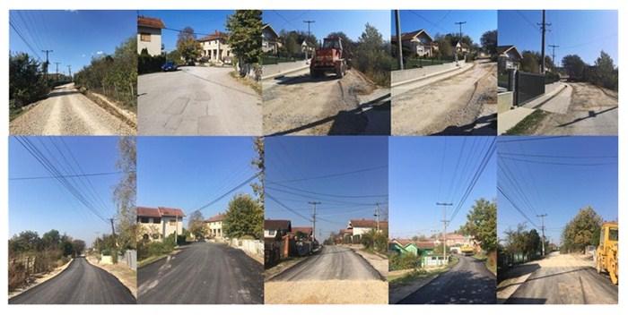 Novi asfalt u despotovačkom selu Miliva !!!