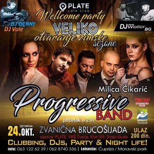 Klub-restoran PLATE otvara ZIMSKU sezonu nastupom Progressive benda!!!