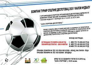 USKORO Božićni turnir u malom fudbalu u Despotovcu !!!