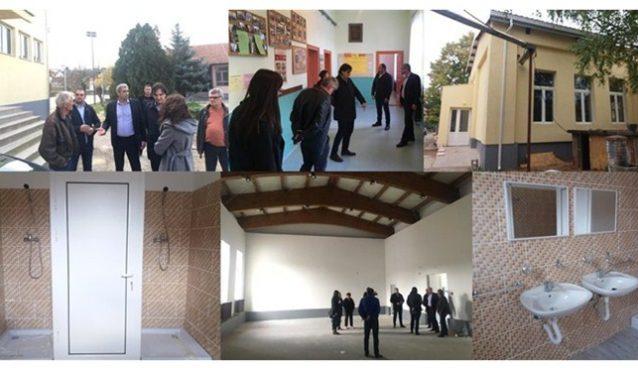 "Rekonstrukcija fiskulturne sale i OŠ ""Đura Jakšić"" – Plažane !!!"