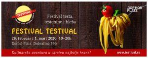 Festival testa, testenine i hleba Testival !!!