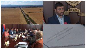 """U Ćupriji članovi Opštinskog veća usvojili plan regulacije """"Industrijski park Dobričevo""""!!!"""