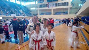 """Karatisti KK """"Knez Lazar"""" iz Ćuprije u konkurenciji pionira 2008. godišta doneli medalje u svoj grad !!!"""
