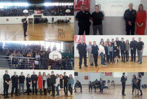 Policijski službenici PU Kragujevac započeli sa sprovođenjem projekta ''Navijaj i pobedi, fer plej je u modi'' !!!