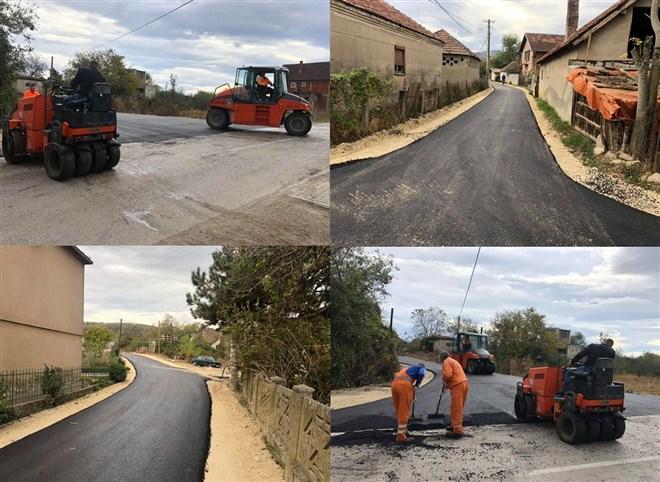 U Ostrikovcu asfaltirana ulica Vojvode Mišića !!!